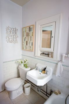 Nikole Herriott's Toronto Home:  Bathroom | Design Sponge
