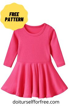 Toddler Sewing Patterns, Baby Girl Dress Patterns, Sewing Baby Clothes, Embroidery Fashion, Clothing Patterns, Lany, Girls Dresses, Amazing Things, Free Sewing