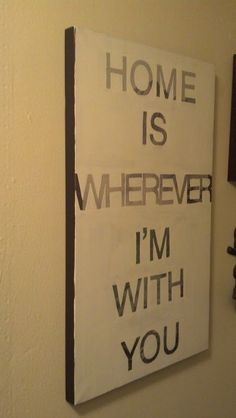 Apartment To Apartment: Pinterest Challenge: DIY Quote Wall Art - interiors-designed.com