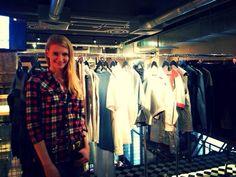 Anna Piszczałka - modelka podczas prezentacji najnowszej kolekcji RS #rs #pressday
