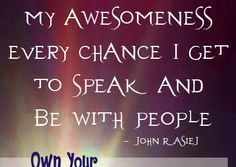 John Rasiej quote from the Own Your Awesome Event