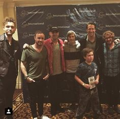 #OneRepublic #Native #CapeTown #SouthAfrica meet and greet June 2015