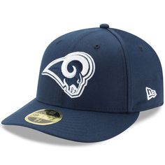 0edc36e6928 Los Angeles Rams New Era Omaha Low Profile 59FIFTY Fitted Hat - Navy