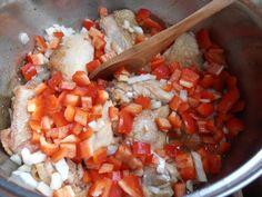 Papricas de pui - CAIETUL CU RETETE Salsa, Food And Drink, Mexican, Ethnic Recipes, Blog, Cook, Recipes, Salsa Music, Restaurant Salsa