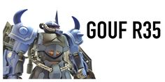 Gouf R35 Custom build and painted by LOW