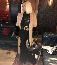 Rasheeda always slays! Chic Outfits, Girl Outfits, Fashion Outfits, Womens Fashion, Winter Outfits For Work, Winter Outfits Women, Fashion Killa, Ladies Dress Design, Swagg