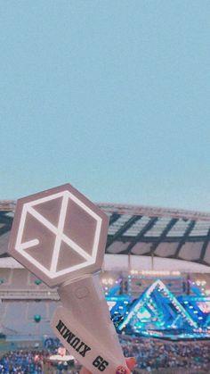 Lightstick Exo, Kpop Exo, Exo Chanyeol, Exo Wallpaper Hd, Lock Screen Wallpaper, Taemin, Exo Merch, Nct, Exo Group