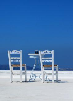 Santorini Blue from Firostefani