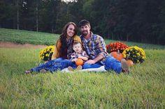 Beautiful fall family session
