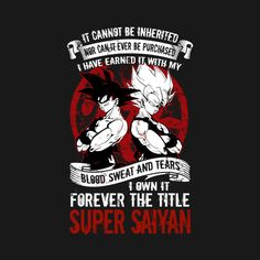 Check out this awesome 'Super+Saiyan+-+TS00029' design on @TeePublic!