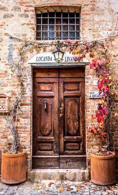Italy Travel Inspiration - Certaldo, Tuscany, Italy                                                                                                                                                     More