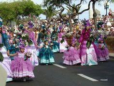 Cortejo Alegórico da Flor, Flower Festival, Madeira, Portugal