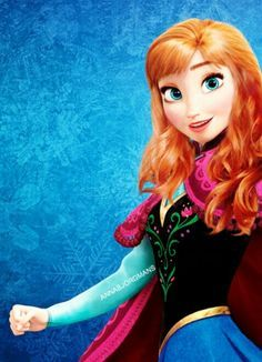 Anna Avec Ses Chveux Laché