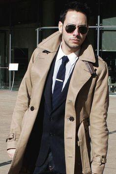 bd61c5c32e Secret Agent Spy Trench Coat Adult Costume