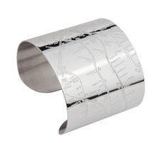 Brooklyn Metro Cuff map bracelets