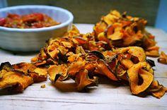 Gesunder Snack: Süßkartoffelchips Tandoori Chicken, Shrimp, Healthy Lifestyle, Meat, Ethnic Recipes, Iron, King, Healthy Snack Foods, Health