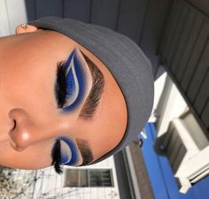 eye makeup look makeup sketch makeup looks 2020 makeup inspiration makeup video eye makeup step by step eye makeup tutorial makeup jaclyn hill Makeup Eye Looks, Cute Makeup, Glam Makeup, Gorgeous Makeup, Pretty Makeup, Makeup Inspo, Eyeshadow Makeup, Blue Eyeshadow, Eyeshadows
