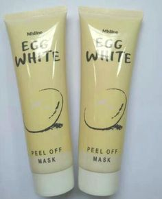 Egg White Peel Off Mask 85ML/PCS Which can Brighten the skin color, nourish the whitening, shrink pores