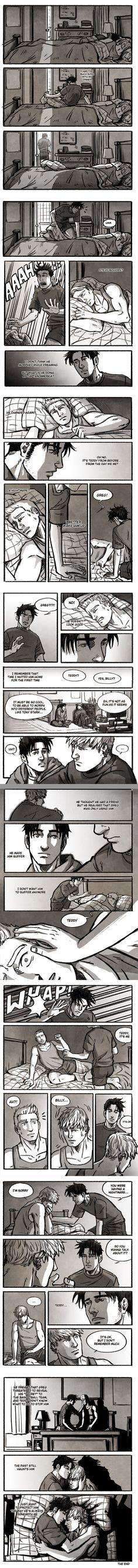 """Dream"" fancomic by Cris-Art"