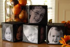 I love these Picture Blocks! Great Christmas Gift Idea.