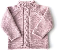 """Fiche Kids Tricot Pull """"Mauli girl"""" de 2 à 8 ans - Baby Cardigan Knitting Pattern Free, Baby Boy Knitting Patterns, Knitting For Kids, Joining Yarn Knitting, Pull Bebe, Baby Pullover, How To Purl Knit, Baby Sweaters, Crochet Clothes"""