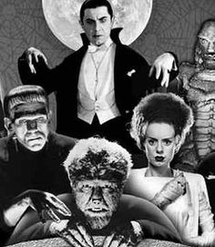 Universal Studios Monsters Movies.