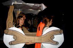 flintstones cardboard car
