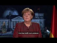 Neujahrsansprache der deutschen Kanzlerin Angela Merkel com 31.12.2017
