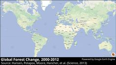 The first detailed maps of global forest change | Research Blog