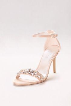 3770cedeac2d 7 Delightful Gold prom heels images