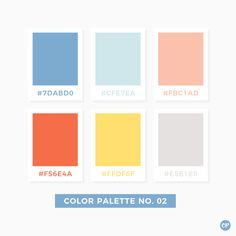 Color Palette No. 02 #color #colorscheme #colorpalette