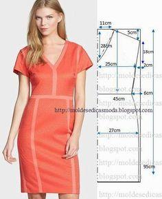 Plantillas de moda para Medir: VESTIR PARA HACER FACIL - 22