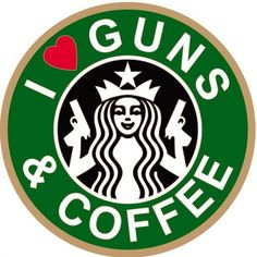 "Gun owners are showing up at Starbucks locations today to express their support for the company's purportedly pro-gun policies. Second Amendment advocates are lending their appreciation to the coffee spots as part of a new, annual event they've launched called ""Gun Owners Support Starbucks Day.""  So, until 11..."