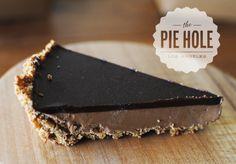 Pie hole.