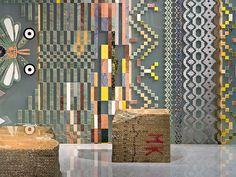 Marble divider element PARAVENT by Budri design Patricia Urquiola Patricia Urquiola, Tile Patterns, Textures Patterns, Divider, Origami, Interior Walls, Interior Design, Old Art, Wall Treatments