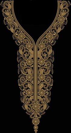 umsaud's media content and analytics Embroidery Designs Free Download, Border Embroidery Designs, Kurti Embroidery Design, Machine Embroidery Designs, Embroidery Store, Embroidery On Kurtis, Embroidery Works, Kurtha Designs, Crystal Embroidery