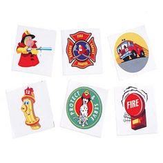 Firefighter Themed Tattoos