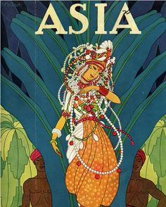 Frank McIntosh is famous for his glorious art deco covers for Asia Magazine, which was popular from the 1920s to the 1940s.