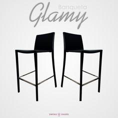 #banqueta #design #glamy #eames