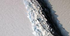 Large Iceberg Poised to Break Off From Antarctica