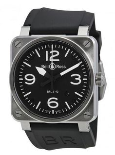 Looking to purchase Bell and Ross Watch at Discount Price? Here at Joma Shop we specialize in high quality watches so, you are bound to find the top-of-the-line Bell and Ross watches at the best sale price! Rolex Watches, Watches For Men, Black Face Watch, Bell Ross, Watch Companies, Black Rubber, Stainless Steel Case, Fashion Watches, Accessories