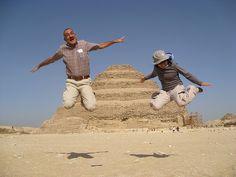 Jumping at the Pyramids with Danny Rifkin.