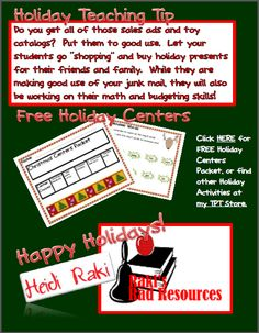 Holiday E-book - get Holiday tips and lots of Freebies!