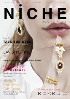 KOKKU on front cover of Niche magazine 2013  www.kokku.co.uk