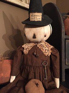 Fall Patterns, Pumpkin Head, Scarecrows, Sleepy Hollow, Old Barns, Primitives, Fall Halloween, Pumpkins, Teddy Bear