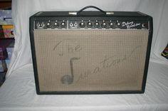 Vintage 1966 Fender Deluxe  Reverb Original Amplifier (hope you like those guys!)