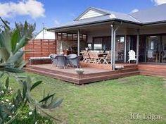 10 Alfresco ideas + tips - Living Area on the Deck / Patio / Porch Deck With Pergola, Outdoor Pergola, Backyard Patio, Pergola Ideas, Pergola Plans, Pergola Kits, Roof Ideas, Cheap Pergola, Patio Roof