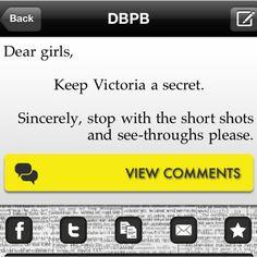 Keep Victoria's seceret