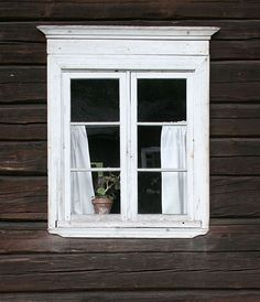 old window at Seurasaari.
