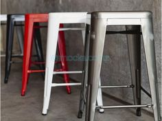 Large Mocka Industrial Stool